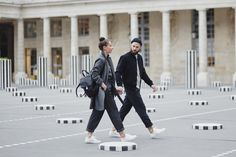 J'aime tout chez toi - Matching fashion couple, Colonnes de Buren Paris
