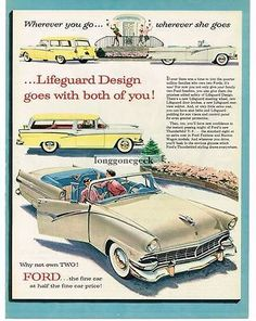 Image result for 1956 ford dealer folder