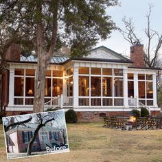 adding back porch to cottage house | Post image for Planning Your Screened Porch Addition