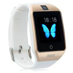 Padgene Bluetooth NFC Smart Watch with IPS Touch Screen Watch Phone for Samsung S5 / S6 / S6 Edge / Note 4 HTC Sony Lg Moto Huawei and other Android Smartphones White