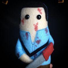 Groovy Bruce Evil Dead 2 Ash Cute Plush Doll by KillinMeSoftly