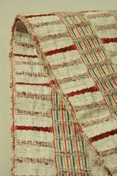 Mild mad color hanhaba obi, weaved lines pattern / 杢生成り地 織りの縦横縞柄 半幅帯 #Kimono #Japan http://www.rakuten.co.jp/aiyama/