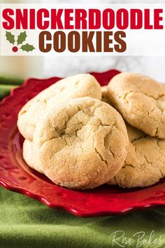 This Classic Snickerdoodle Cookies Recipe makes perfectly soft and chewy cookies with great texture and the delicious flavors of butter, cinnamon & sugar! Chewy Snickerdoodle Cookie Recipe, Chocolate Chip Shortbread Cookies, Toffee Cookies, Quick Cookies, Yummy Cookies, Ginger Cookies, Salted Caramel Mocha, Snicker Doodle Cookies, Slow Cooker Desserts