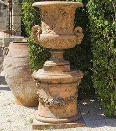gorgeous antique urn