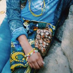 #PrettyPurposefulAfricaCollection - cloth bag, beaded bracelets, and necklaces. All for sale at: http://www.prettypurposeful.org/#!shop–cart/cpk ✨