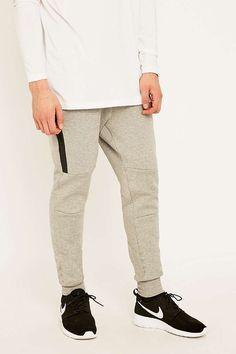Nike Tech Fleece Light Grey Joggers - Urban Outfitters