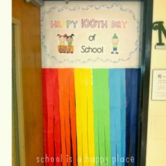 Door idea for the 100th Day of School