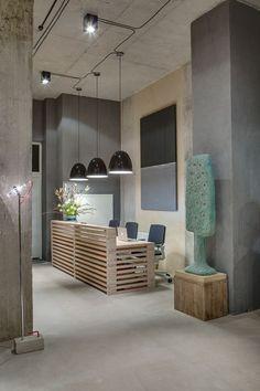 DIZAAP - Picture gallery #ideas #oficinas #modernas #pisos #continuos #microcemento #revestimiento