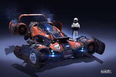 Axiom Jet Racer -by Igor Sobolevsky