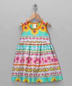 Daisy Stripe Dress - Toddler & Girls