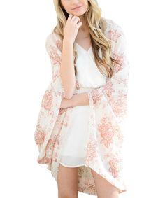 Romantic Floral Kimono
