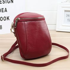 Women Genuine Leather Bucket Phone Bag Mini Crossbody Bag is designer, see other cute bags on NewChic. Classic Handbags, Cute Handbags, Cheap Handbags, Black Handbags, Leather Handbags, Fabric Handbags, Small Handbags, Satchel Handbags, Leather Bags