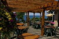 Welcome to the Grandview Motel Tobermory. We offer Luxury Motel Rooms, House Rental, Accommodations and Travel Booking Information. Tobermory Ontario, Flowerpot Island, Motel Room, Waterfront Homes, Pergola, National Parks, Outdoor Structures, Patio, House