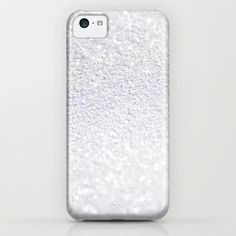 SPARKLING SNOWFLAKE iPhone & iPod Case #glitter #white #iphone #case #cover #snow #snowflake #sparkles #sparkling #photography #society6 #strigel