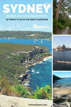 20 great ideas to help you find the best things to do in Sydney from bushwalks to beaches