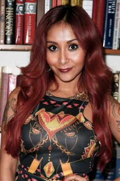 about Snooki Red Hair on Pinterest Long Extensions, Snooki Hair ...