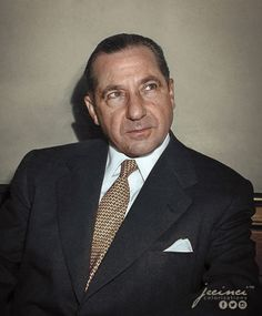 """Frank """"the Prime Minister"""" Costello  January 26, 1891 – February 18, 1973"""