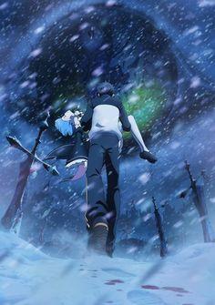 第2弾のキービジュアル公開&公式サイトのTOPをリニューアルしました。吹雪の中をレムを抱いて歩くスバル。向かう先には………。 re-zero-anime.jp #rezero #リゼロ