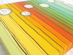 easy canvas painting ideas | How to make a painting in three (or more) easy steps.