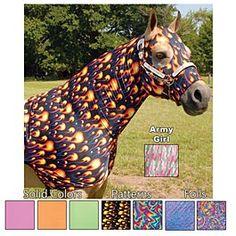 Sleazy Sleepwear for Horses Stretch Hood
