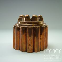 Century Benham & Froud Decorative Copper Jelly Mould No. 397 Engraved 'AIRS' Legacy Antiques and Collectibles Ltd Jelly, 19th Century, Copper, Product Description, Antiques, Decor, Antiquities, Antique, Decoration