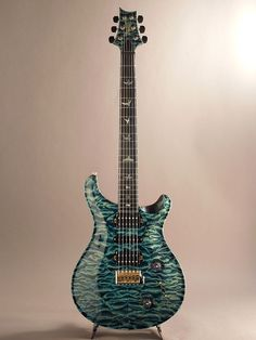 PRS[Paul Reed Smith ポールリードスミス] Private Stock McCarty Trem Direct Mount H-S-H Curly Maple Neck #4009 Hand Pick Quilted Blue Steel 詳細写真
