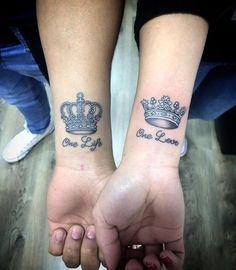 Coronas tattoo... Tattoo para parejas