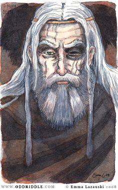 plata-y-oro:  moleskine - Odin by emla (http://emla.deviantart.com/)