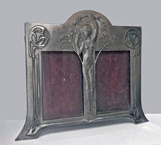 Rare W.M.F Art Nouveau Double Frame, Germany, circa 1900 2