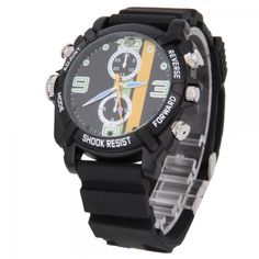 HD Night Vision Spy horloge