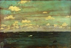 Violet and Silver - The Deep Sea by James McNeill Whistler — Found via Artful for Mac — http://artfulmac.com