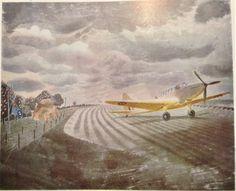 'Fairey Battle' by Eric Ravilious, 1942