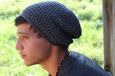 free crochet slouchy beanie patterns for men - Yahoo Image Search Results