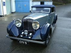 James Young Bentley 4 1-4L Coupe 1936 B29GP