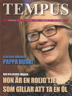 Tempus (Sweden) - April 17-24 2015 - Hillary Clinton