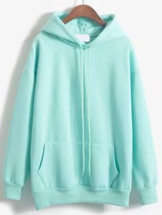 Women Harajuku Autumn And Winter Thickening Loose Long-Sleeve Fleece Drawstring Solid Color Brief Hoody Kawaii Sweatshirt Female Cute Lazy Outfits, Casual Outfits, Sweat Style, Suit Fashion, Fashion Outfits, Fashion 2017, Basic Hoodie, Stylish Hoodies, Kawaii Clothes