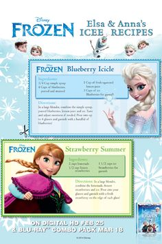Disney's Frozen hit theaters with a big BANG. It was the most popular Disney movie to date. In honor of one of my favorite movies I created Frozen printables t… Disney Themed Food, Disney Inspired Food, Disney Food, Disney Snacks, Disney Dishes, Disney Desserts, Frozen Desserts, Frozen Birthday Party, Frozen Party