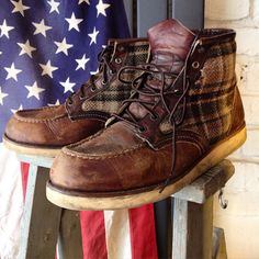 Red Wing x Woolrich #9003