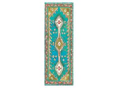 Happy Baby Turquoise Yoga Mat By Magic Carpet Yoga Mats | Accessories - AHAlife.com