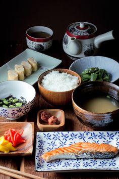 desayuno japonés tradicional