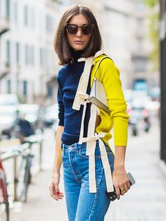 This New Trend Will Elevate Any Outfit via @WhoWhatWear
