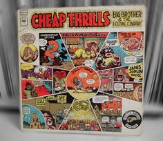 "Big brother and the holding company - ""Cheap thrills !"""