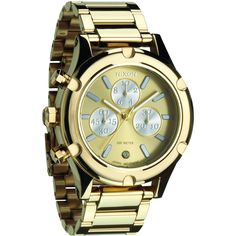 Women's Wrist Watches - Nixon camden chrono champagne gold dial stainless steel bracelet women watch NEW ** Visit the image link more details. Michael Kors, Rolex Watches, Watches For Men, Nixon Watches, Wrist Watches, Ladies Watches, Camden, Stainless Steel Bracelet, Bracelet Watch