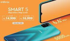 Infinix Smart 5 Price in Pakistan – with 5000mAh mega battery