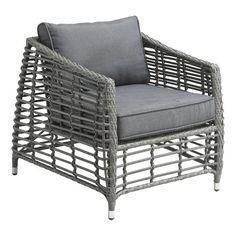 Wreak Beach Arm Chair Grey | Outdoor | Contemporary Furniture Warehouse