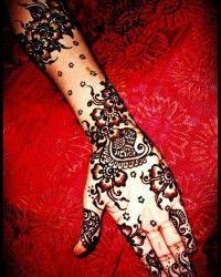 Latest Eid Mehndi Designs 2013 for Hands 007