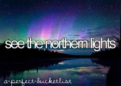 Sometimes I can see them from my house and no, I do not live in the Yukon Territories or in an igloo -_-