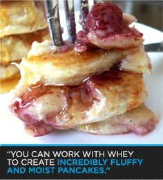 Bodybuilding.com - Protein Bake Recipes: Incredibly Fluffy and Moist Pancakes!