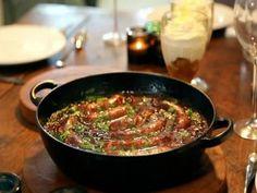Receta | Estofado de salchichas (Sausage and caramelised red onion hot pot) - canalcocina.es