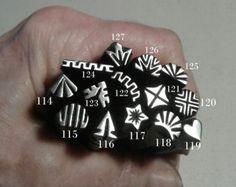 Handmade Metal Stamps jewelry stamp jewelry making tools